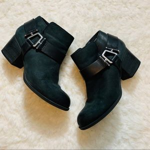 ALDO leather black booties size 7.5